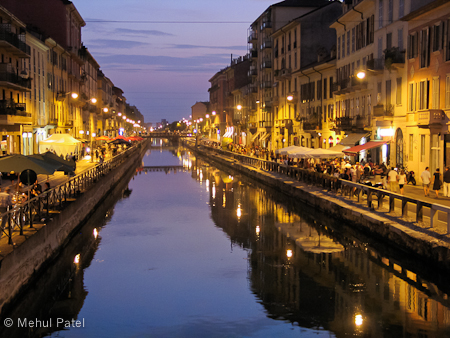 Canal in Milan