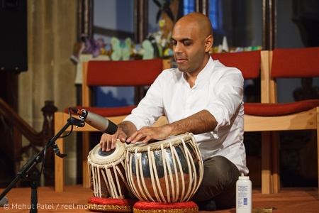 Indian Classical Music - Tabla solo from maestro, Rohit Mistry