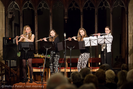 Flute Quartert - Charity Concert in aid of 'The Well', Kibworth, Leicestershire