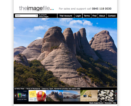 Rocky mountain picture selected for stock image site 'homepage'!!