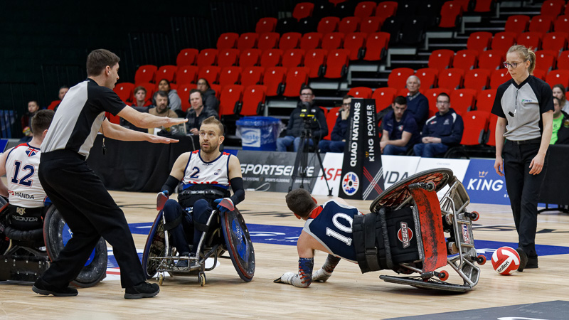 Wheelchair Rugby teams gear up for Tokyo 2020 at Quad Nations