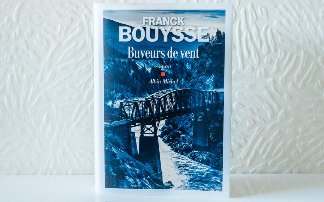Buveurs de Vent book by Franck Bouysse. Cover photography by Mehul Patel / Arcangel Images